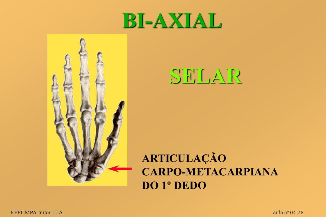 BI-AXIAL SELAR ARTICULAÇÃO CARPO-METACARPIANA DO 1º DEDO