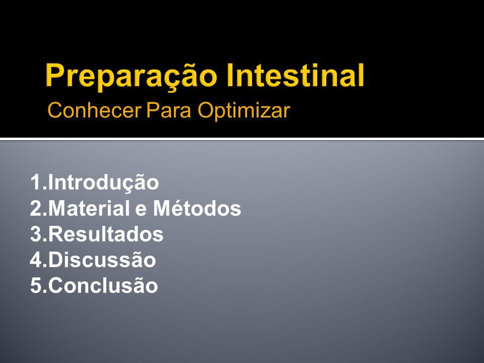 Preparação Intestinal