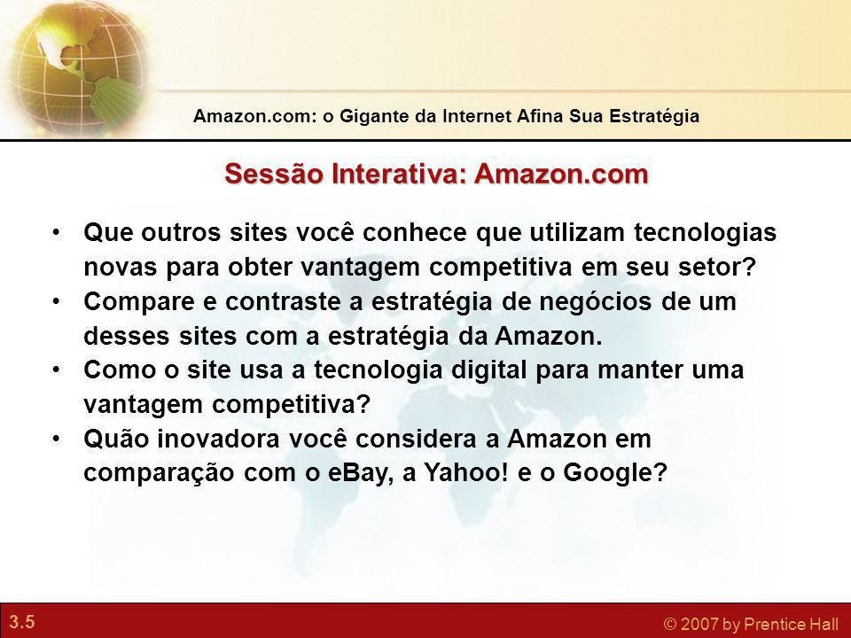 Sessão Interativa: Amazon.com