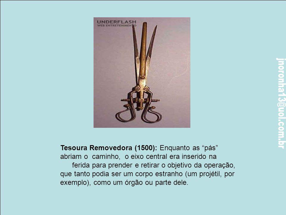 Tesoura Removedora (1500): Enquanto as pás