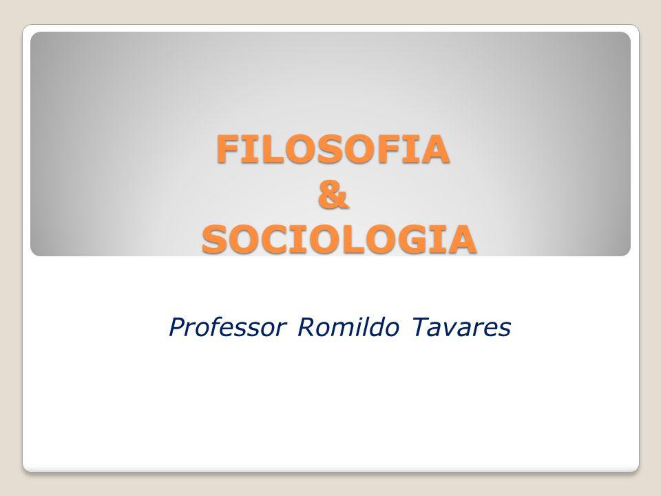 FILOSOFIA & SOCIOLOGIA