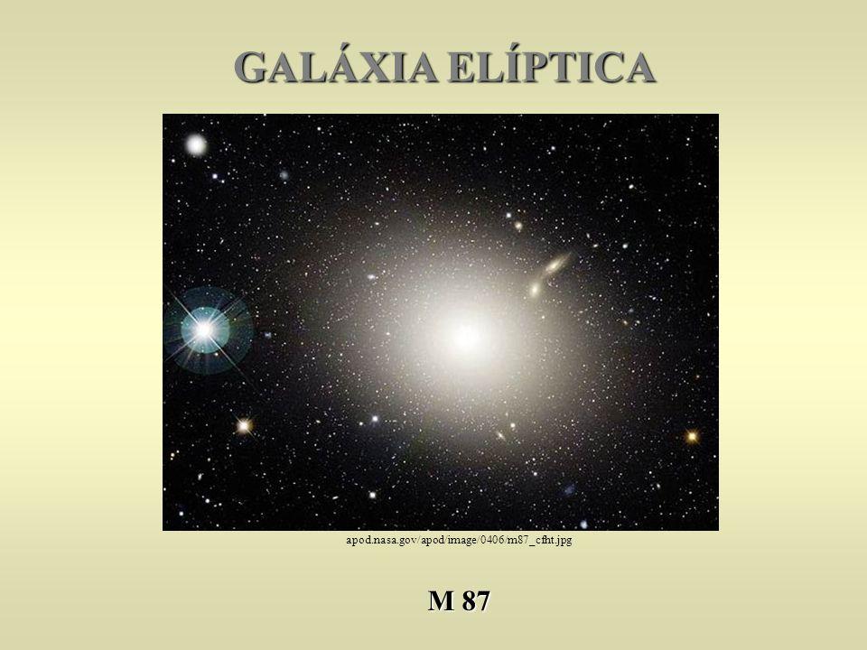 GALÁXIA ELÍPTICA apod.nasa.gov/apod/image/0406/m87_cfht.jpg M 87