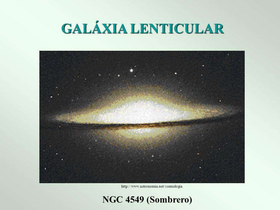 GALÁXIA LENTICULAR NGC 4549 (Sombrero)