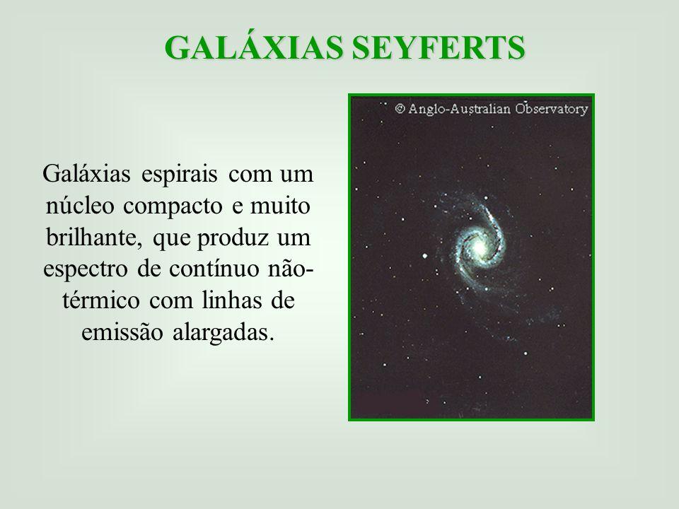 GALÁXIAS SEYFERTS