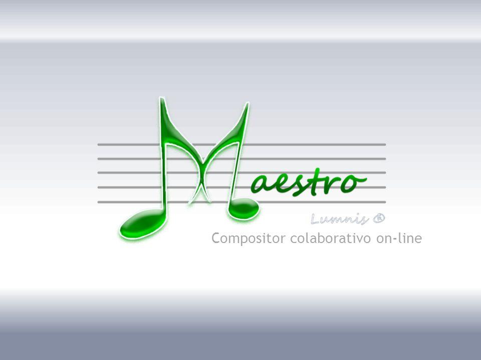 Bom dia, meu nome… representando a empresa Lumnis… produto Maestro…