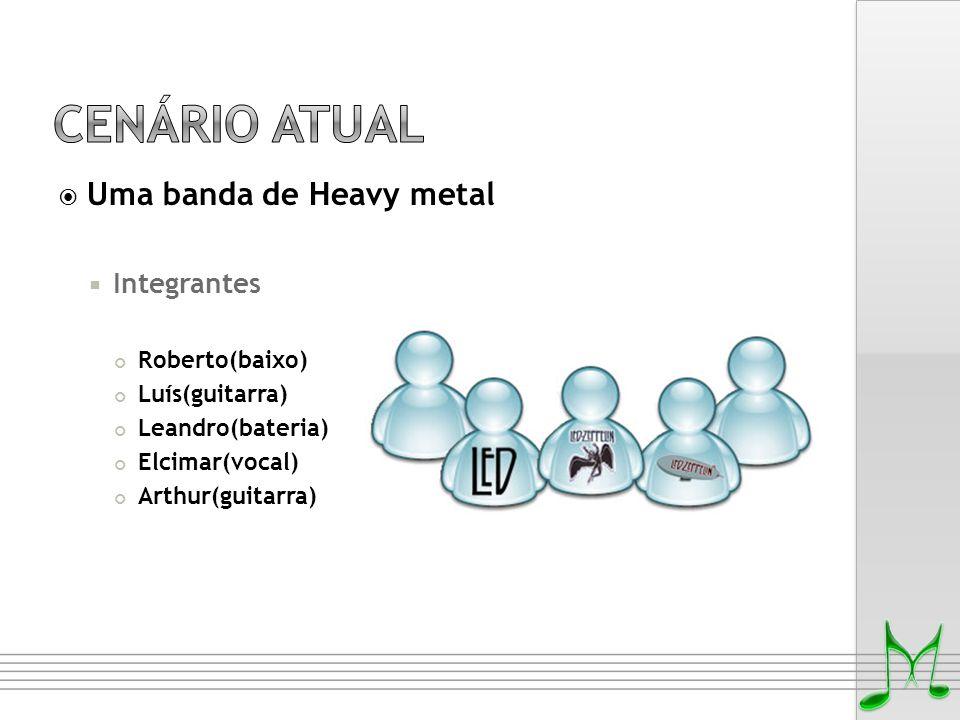 Cenário Atual Uma banda de Heavy metal Integrantes Roberto(baixo)
