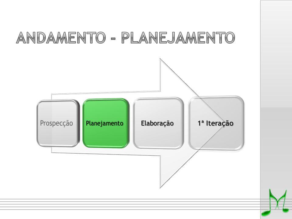 Andamento - Planejamento