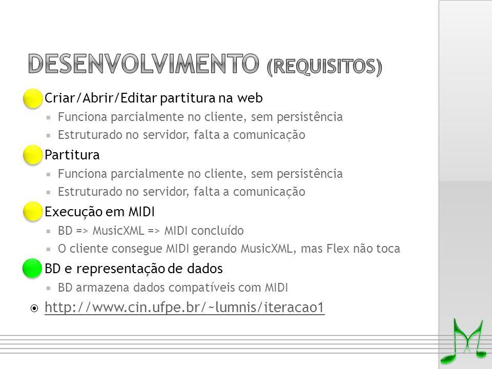 Desenvolvimento (requisitos)