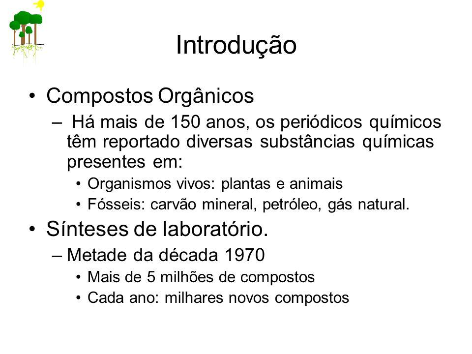 Introdução Compostos Orgânicos Sínteses de laboratório.
