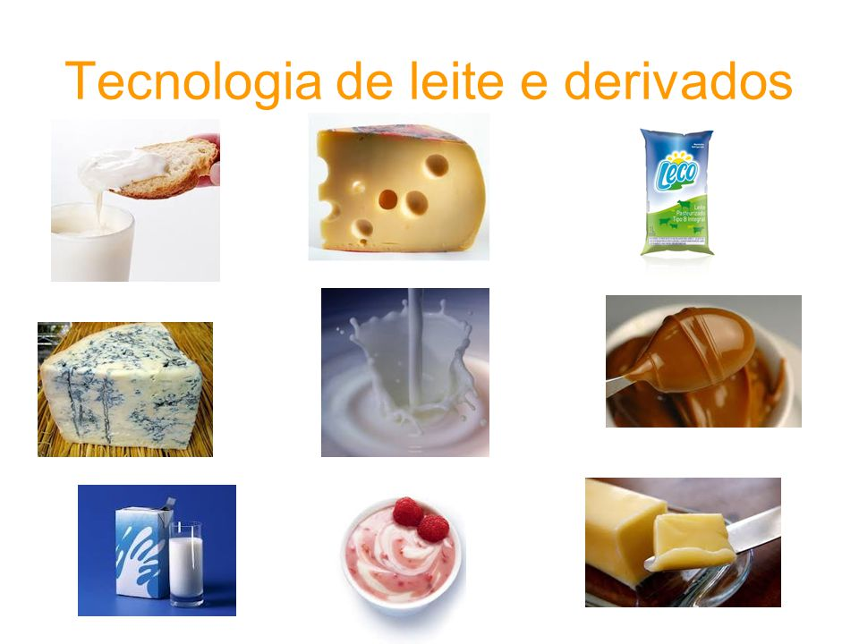 Tecnologia de leite e derivados
