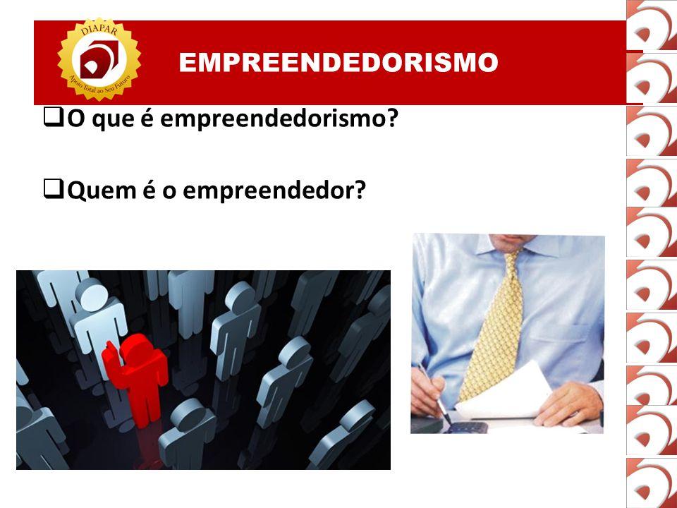O que é empreendedorismo Quem é o empreendedor