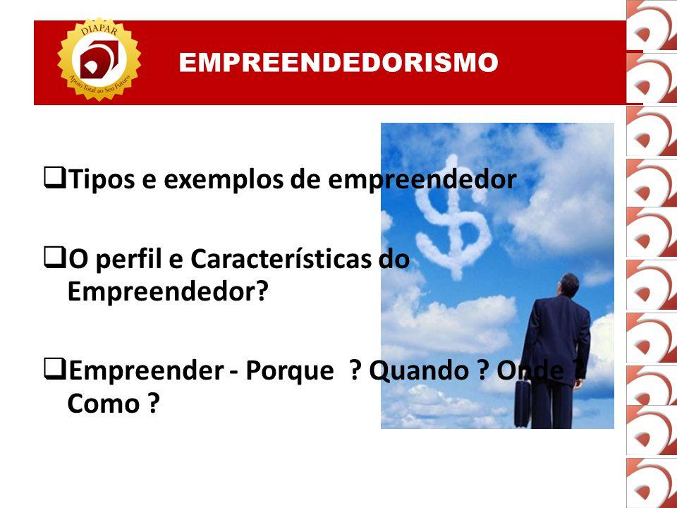 Tipos e exemplos de empreendedor
