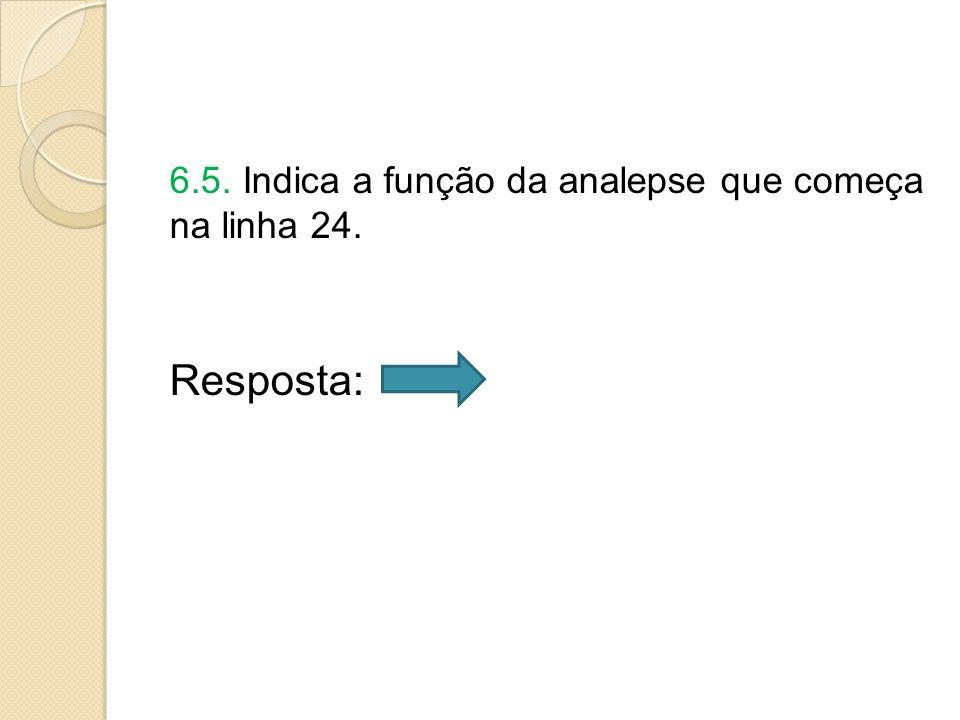 6.5. Indica a função da analepse que começa na linha 24.