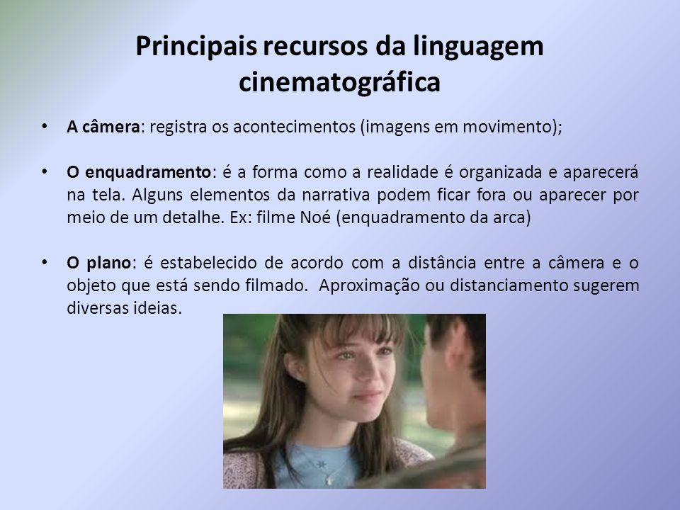 Principais recursos da linguagem cinematográfica