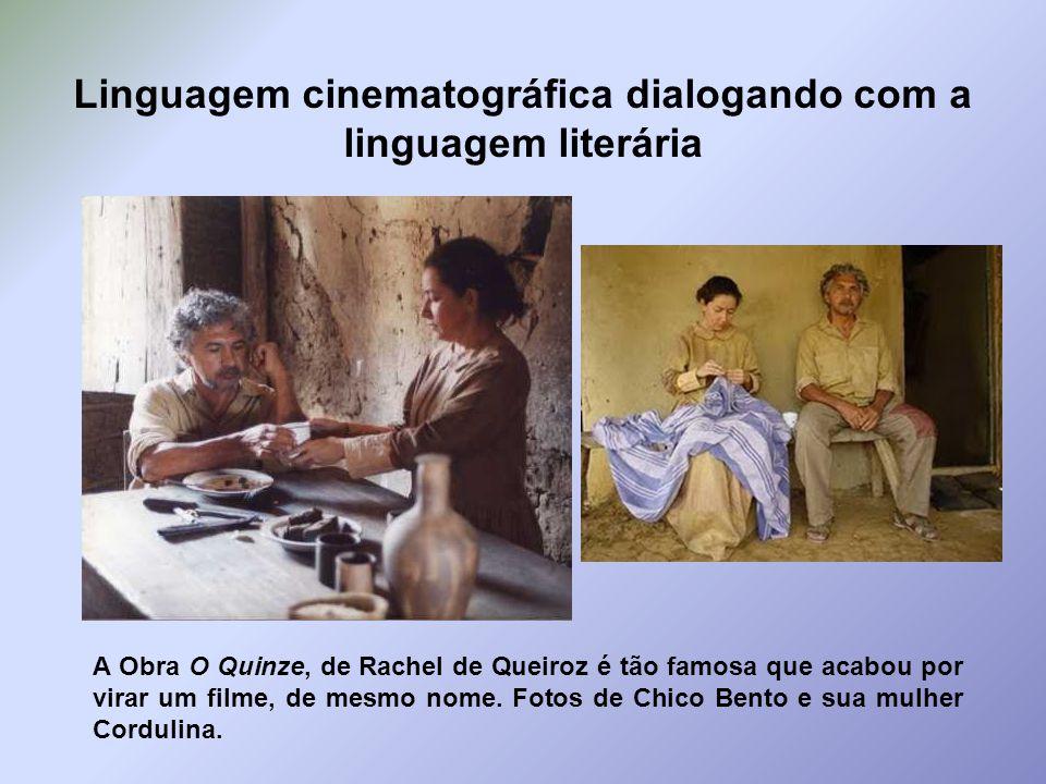 Linguagem cinematográfica dialogando com a linguagem literária