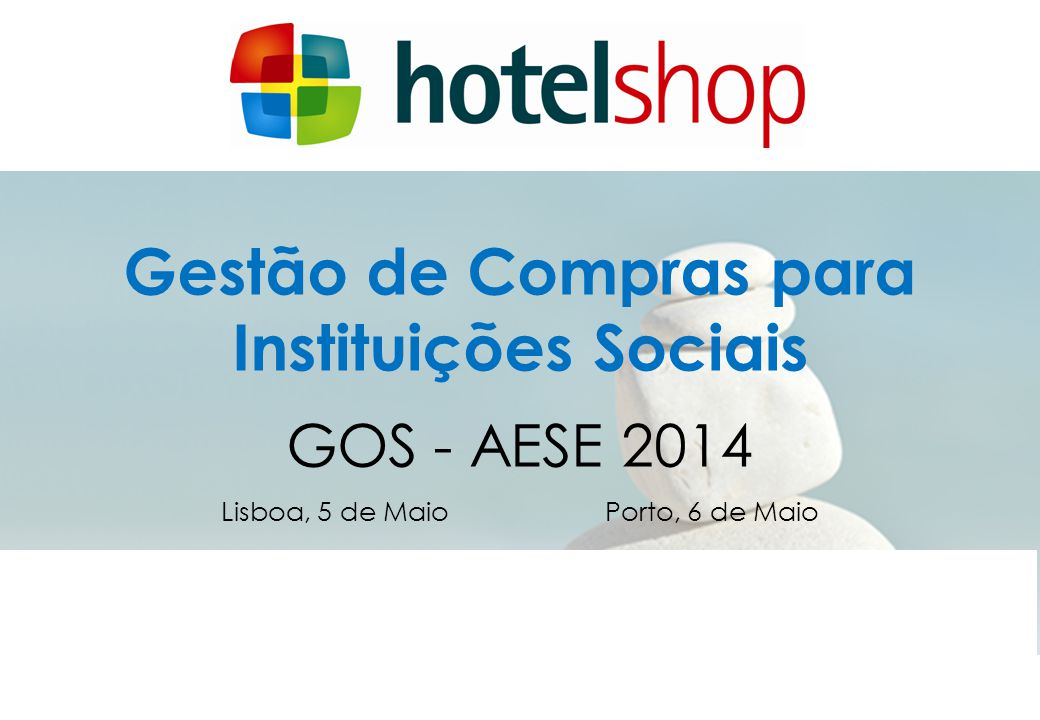 Gestão de Compras para Instituições Sociais