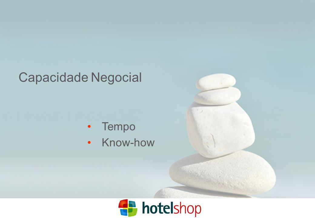 Capacidade Negocial Tempo Know-how