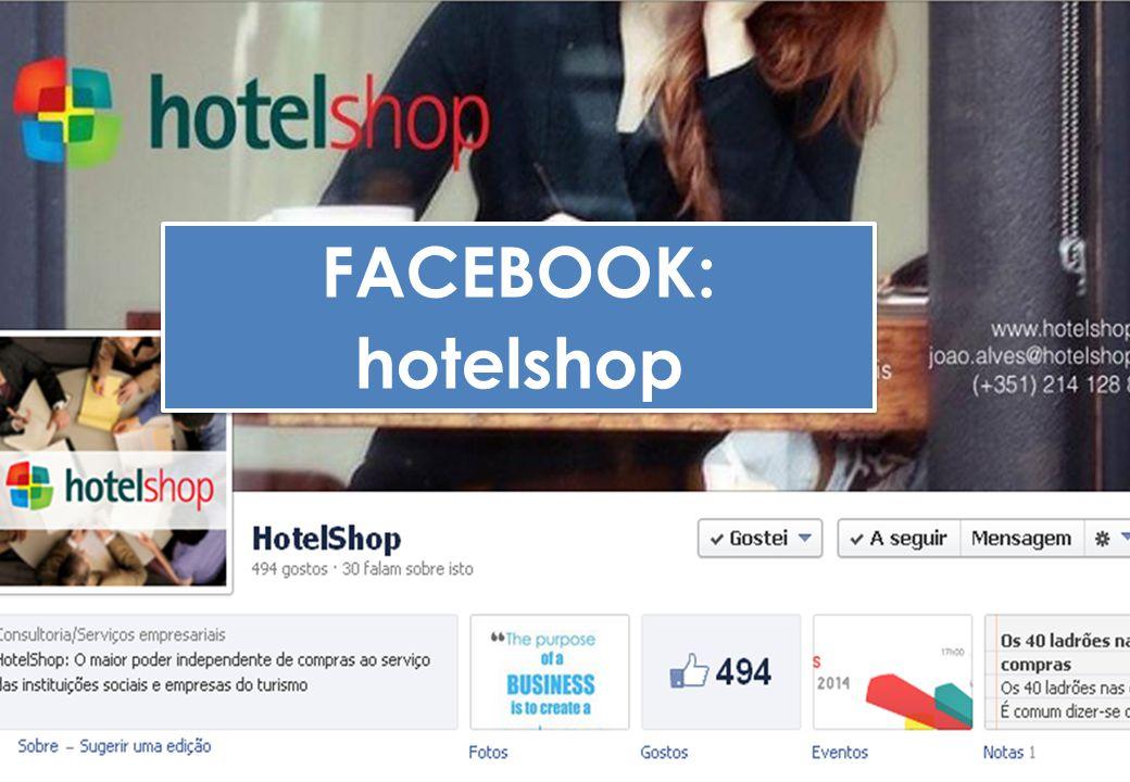 FACEBOOK: hotelshop