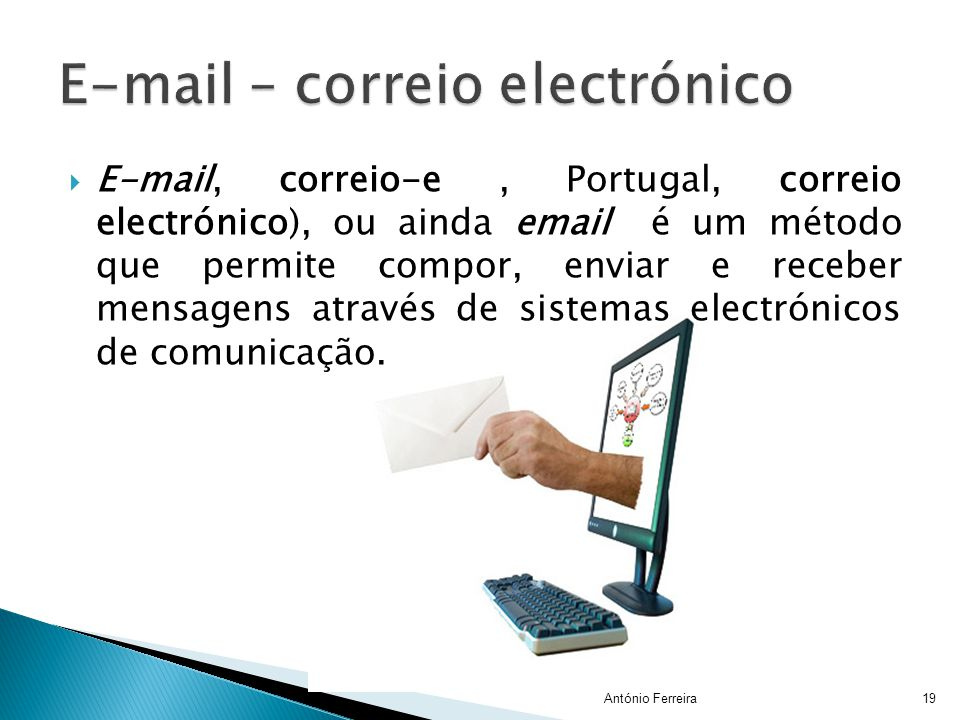 E-mail – correio electrónico