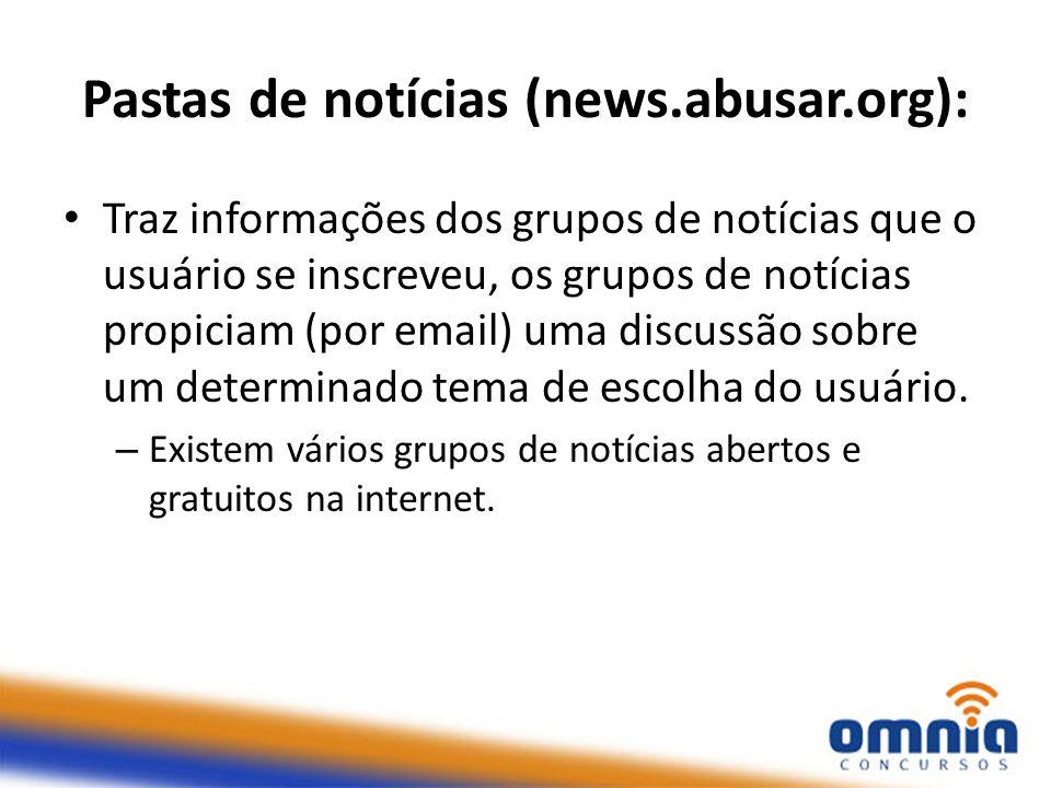 Pastas de notícias (news.abusar.org):