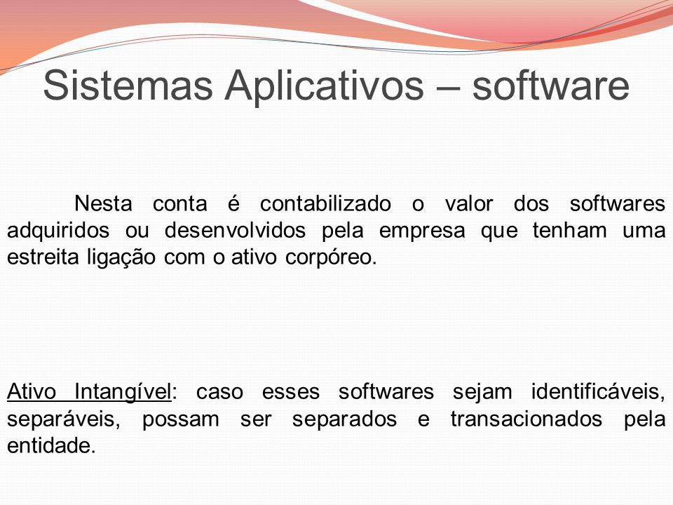 Sistemas Aplicativos – software