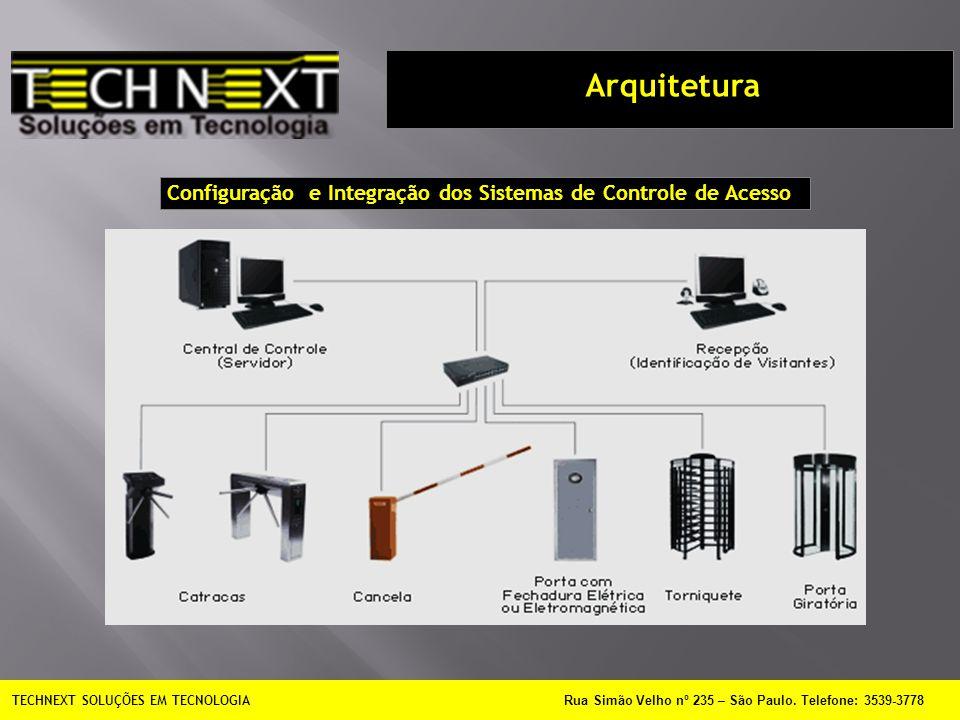 Configuração e Integração dos Sistemas de Controle de Acesso