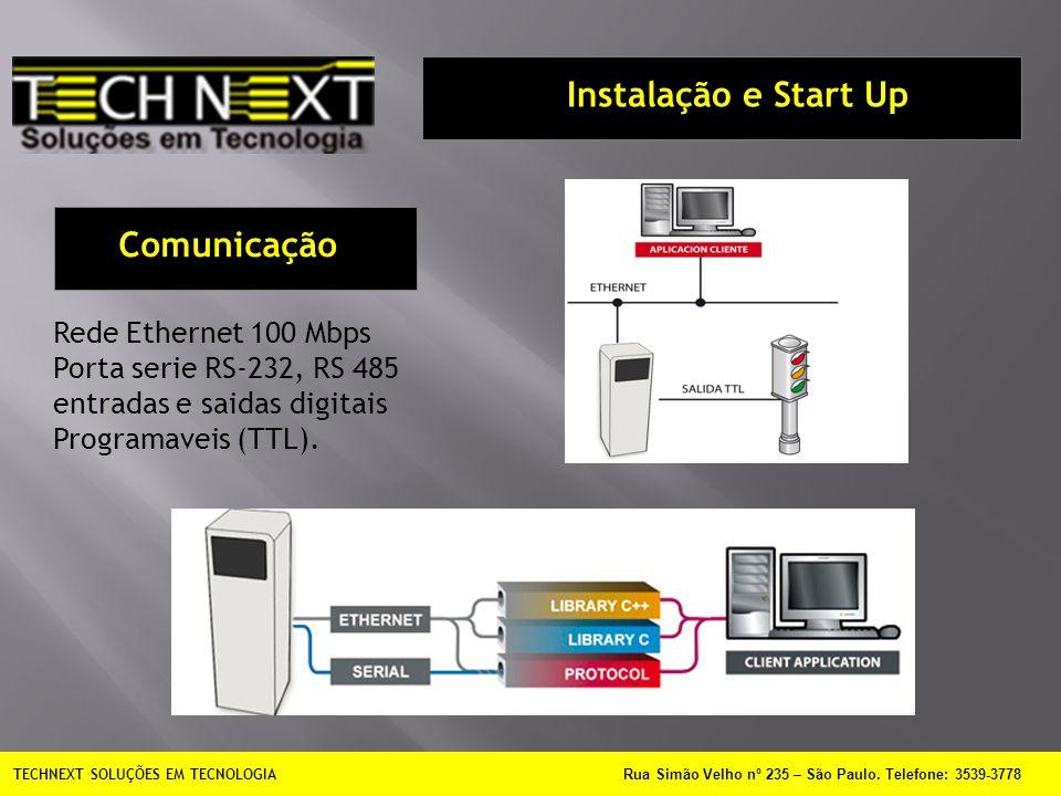Instalação e Start Up Comunicação