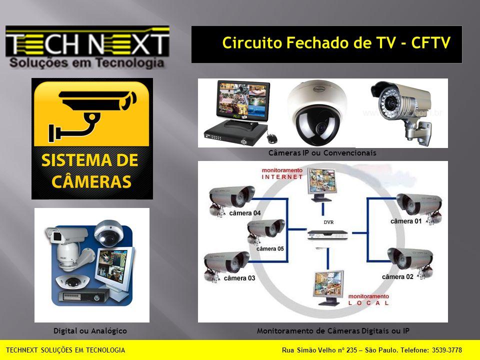 Circuito Fechado de TV - CFTV