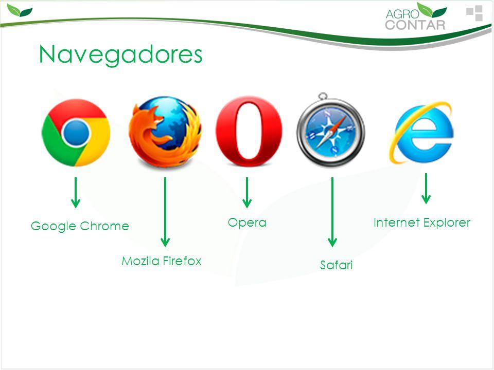 Navegadores Opera Internet Explorer Google Chrome Mozila Firefox