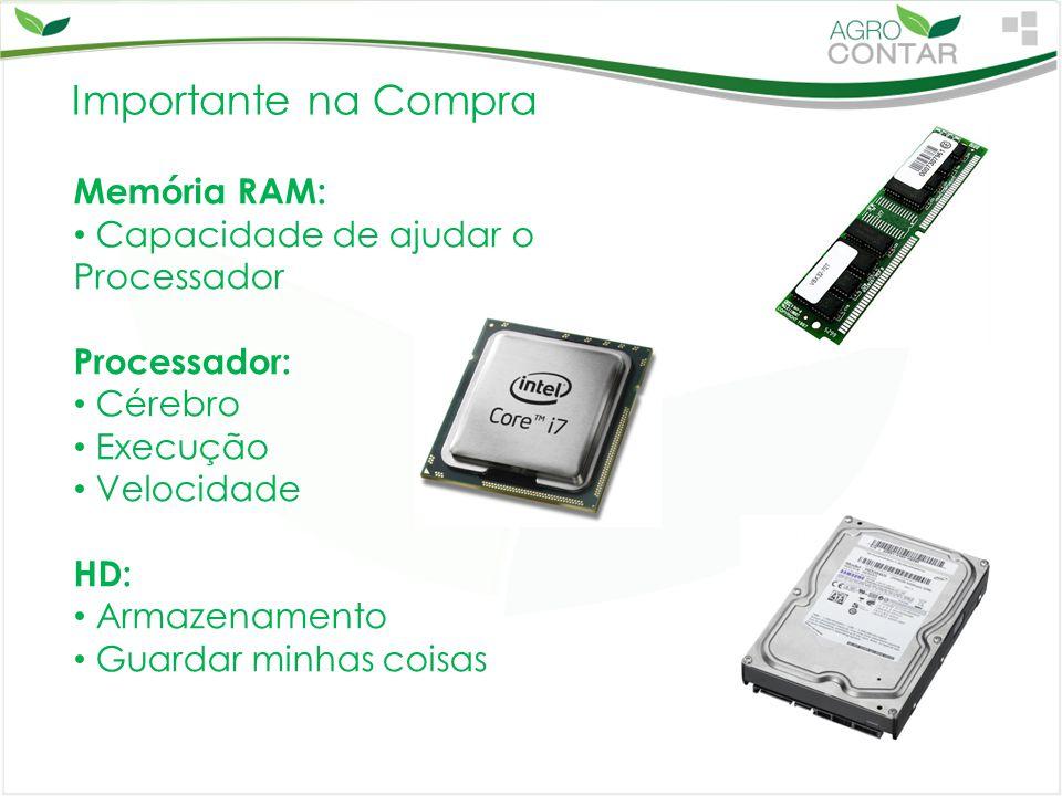 Importante na Compra Memória RAM: Capacidade de ajudar o Processador