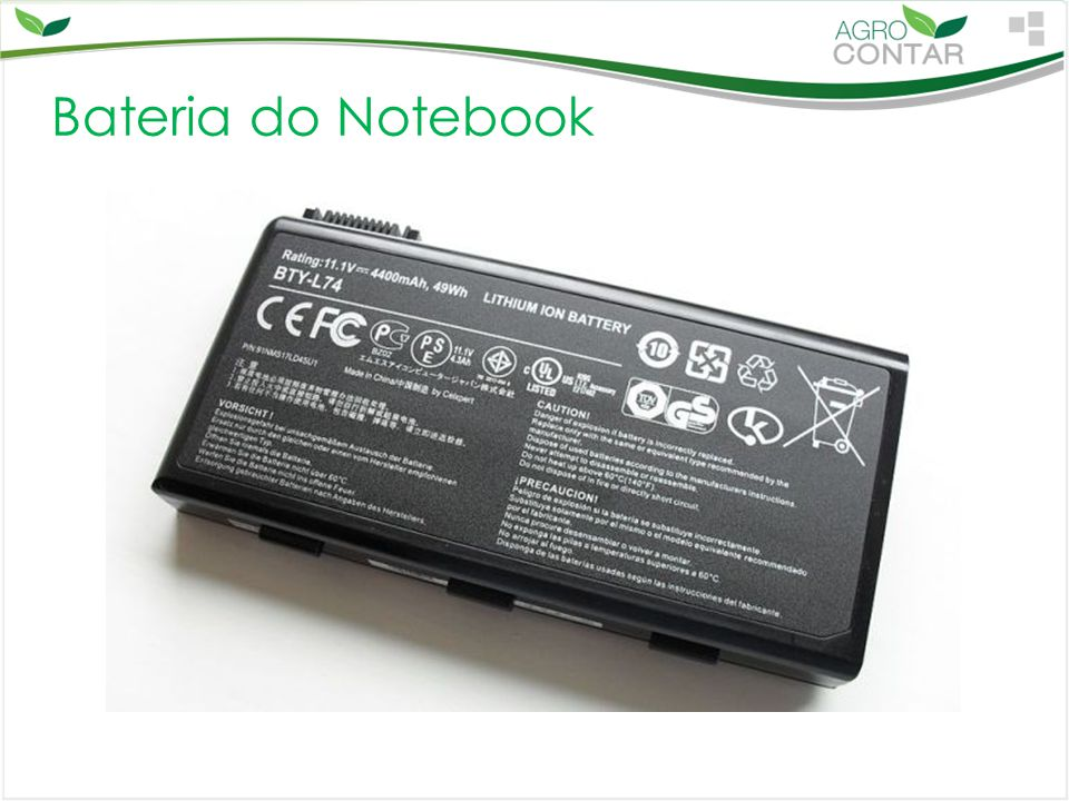 Bateria do Notebook