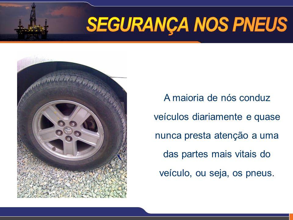 A maioria de nós conduz veículos diariamente e quase nunca presta atenção a uma das partes mais vitais do veículo, ou seja, os pneus.