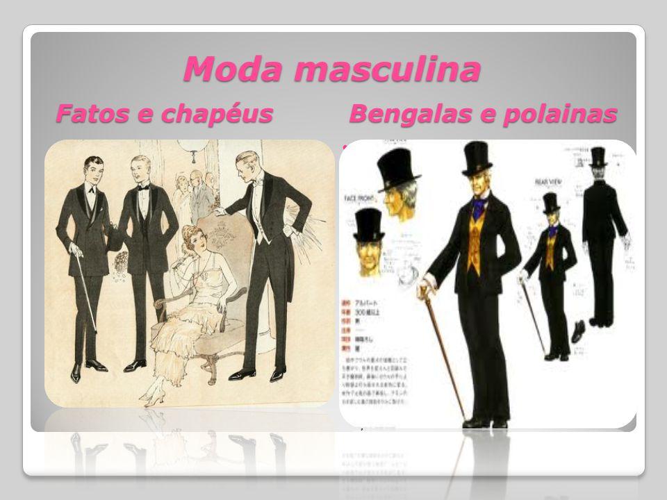 Moda masculina Fatos e chapéus Bengalas e polainas