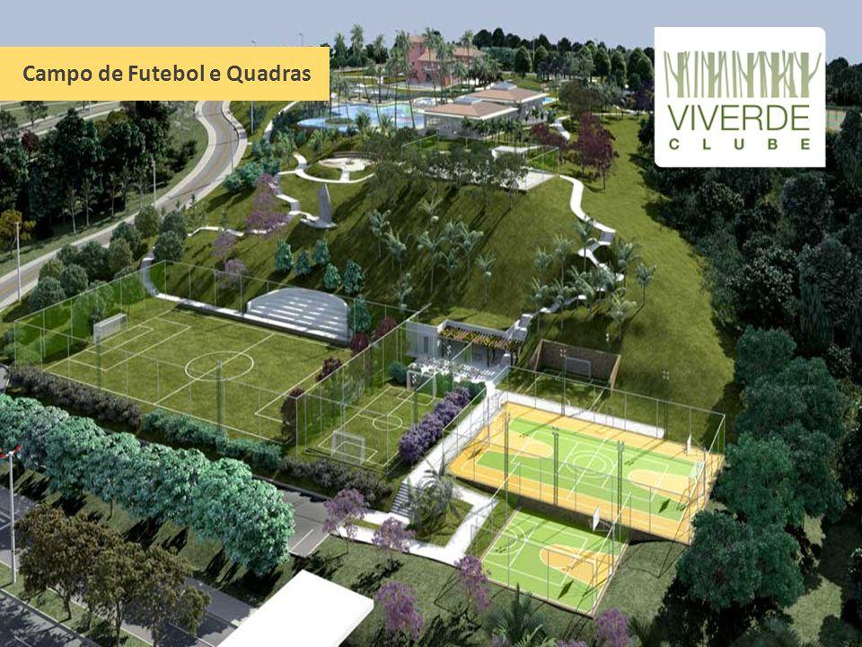 Campo de Futebol e Quadras
