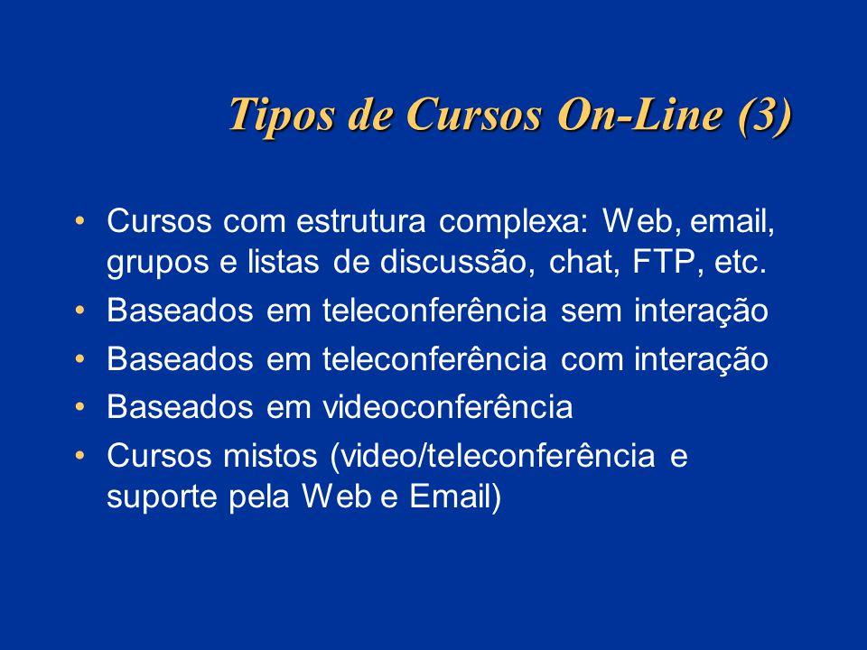 Tipos de Cursos On-Line (3)