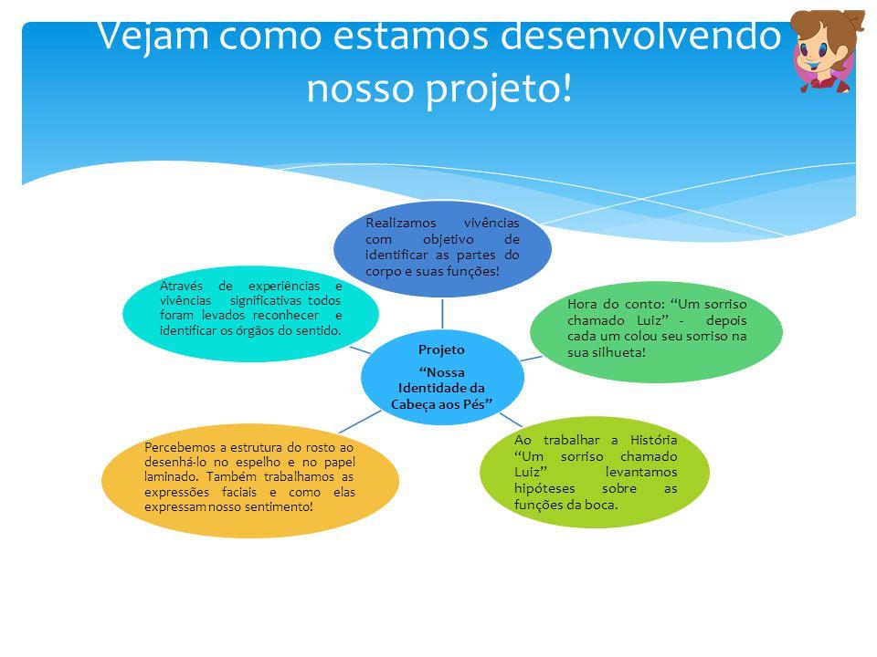Vejam como estamos desenvolvendo nosso projeto!