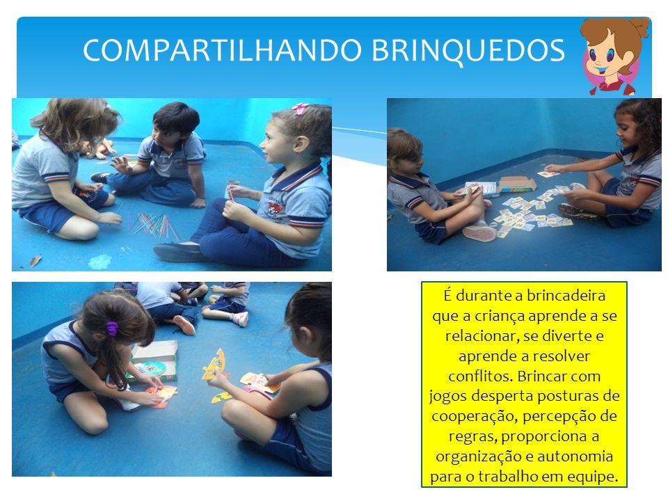 COMPARTILHANDO BRINQUEDOS