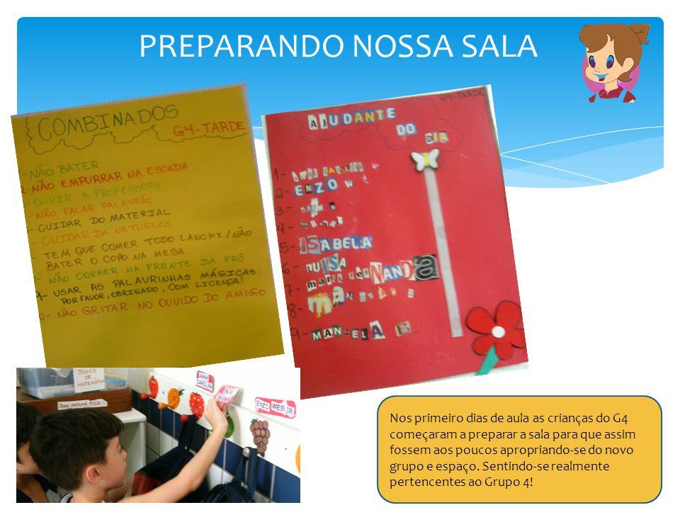PREPARANDO NOSSA SALA