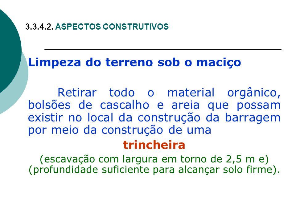 3.3.4.2. ASPECTOS CONSTRUTIVOS