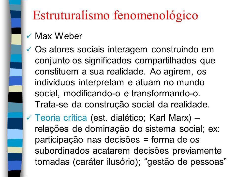 Estruturalismo fenomenológico