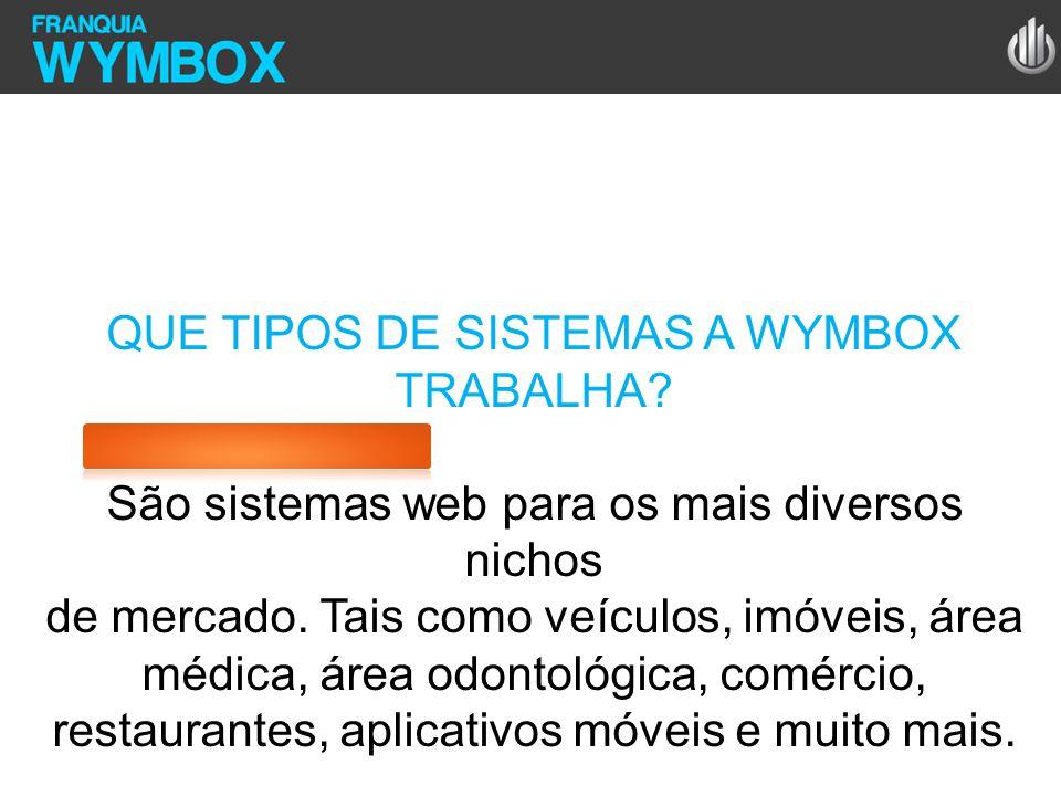 QUE TIPOS DE SISTEMAS A WYMBOX TRABALHA