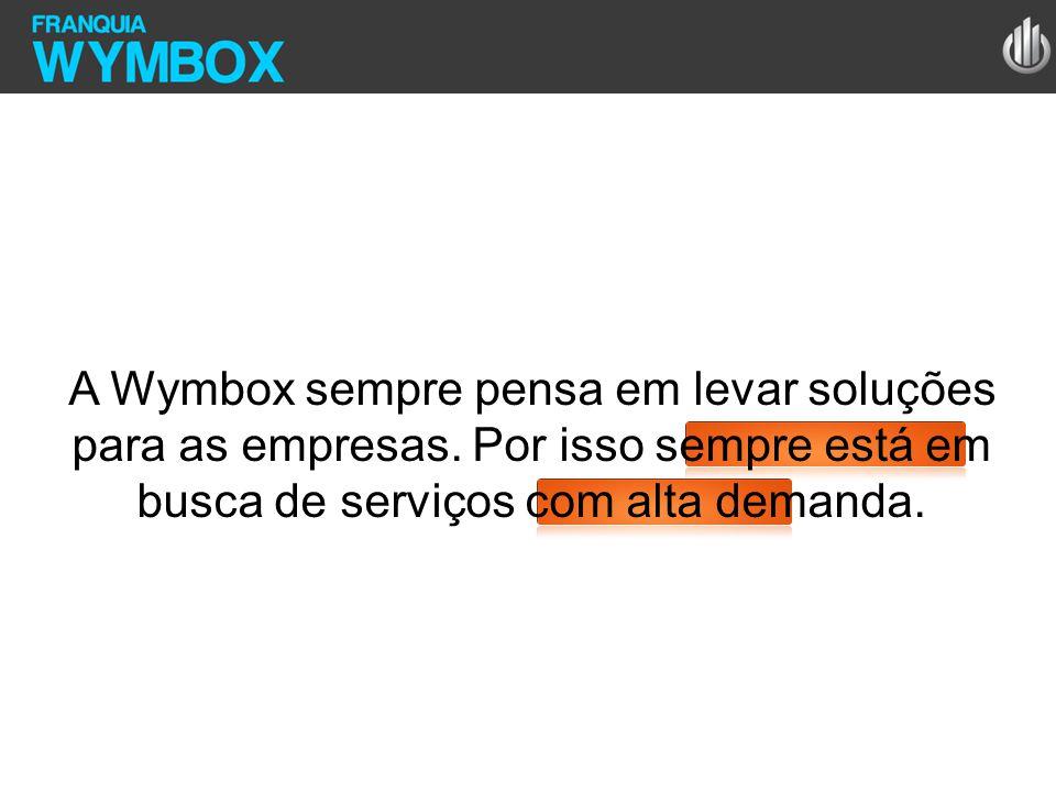 A Wymbox sempre pensa em levar soluções