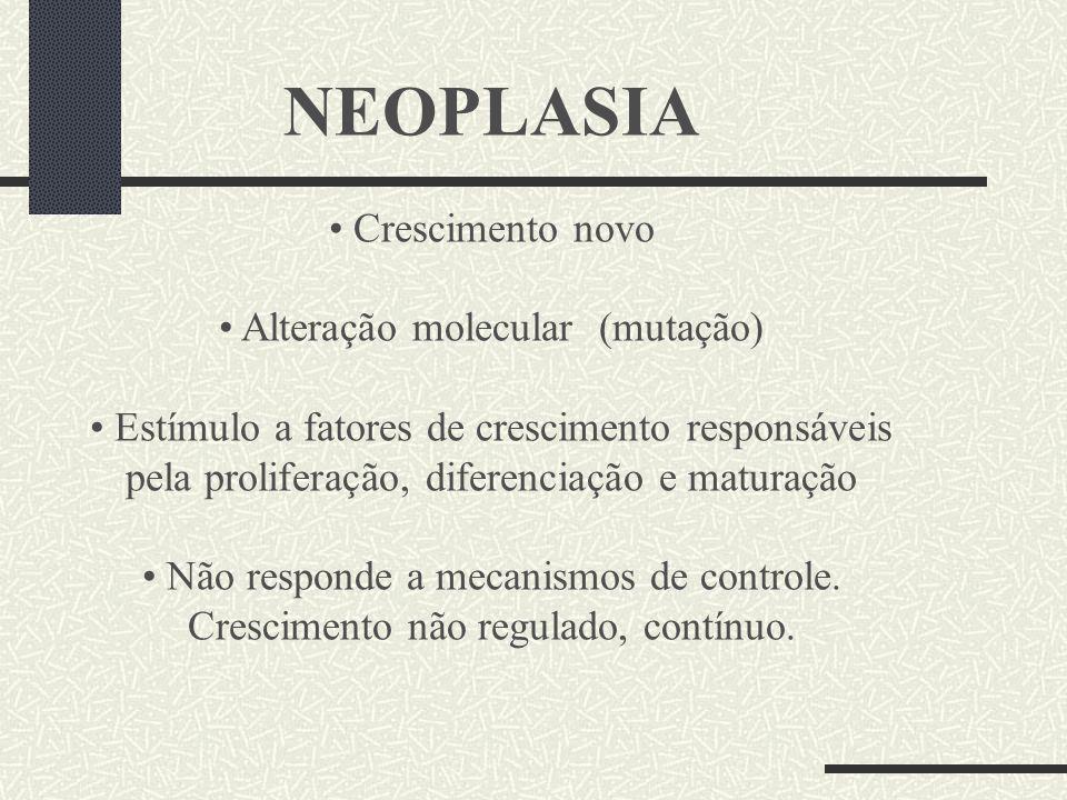 Alteração molecular (mutação)