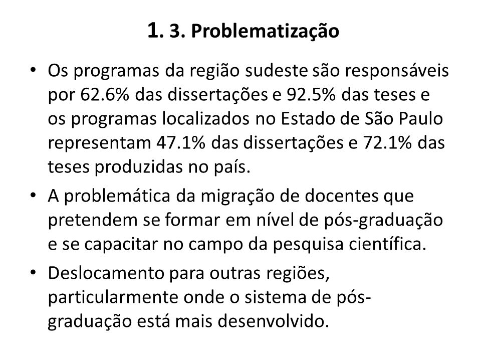 1. 3. Problematização