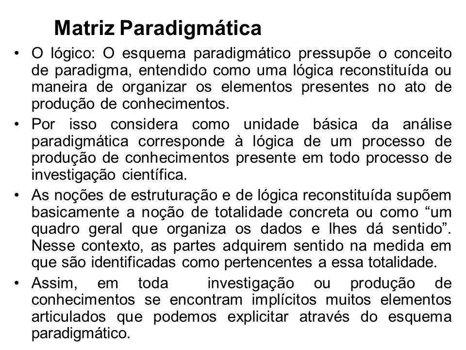 Matriz Paradigmática