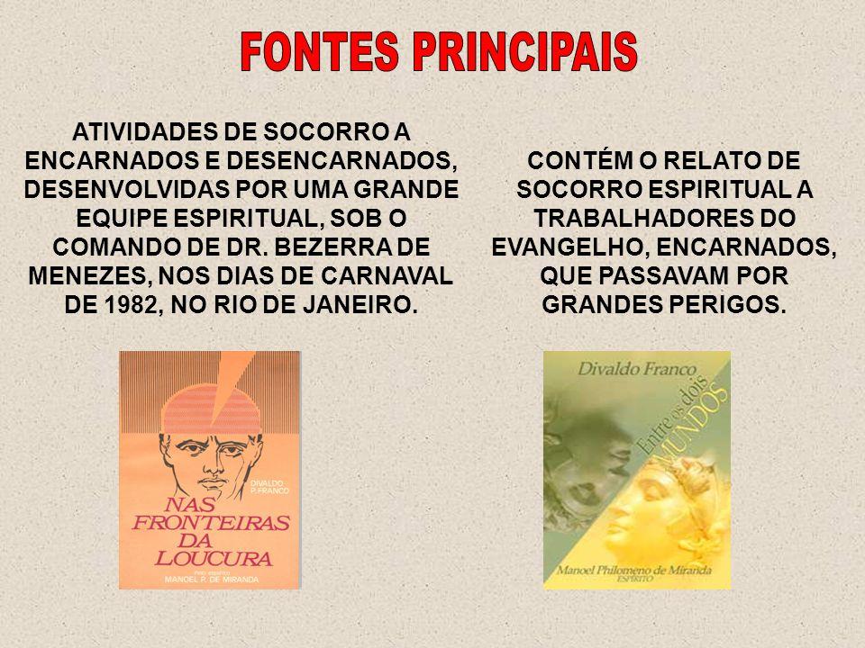 FONTES PRINCIPAIS