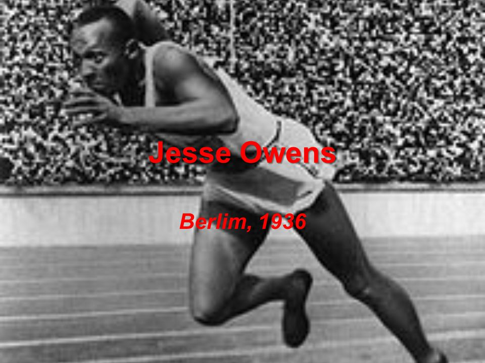 Jesse Owens Berlim, 1936