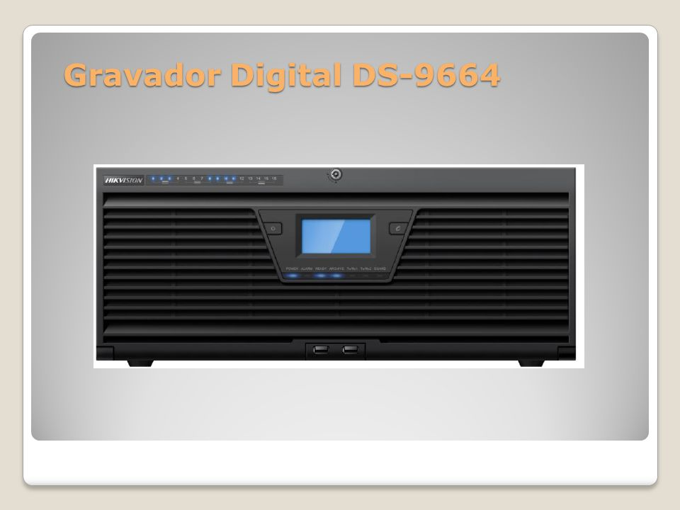 Gravador Digital DS-9664