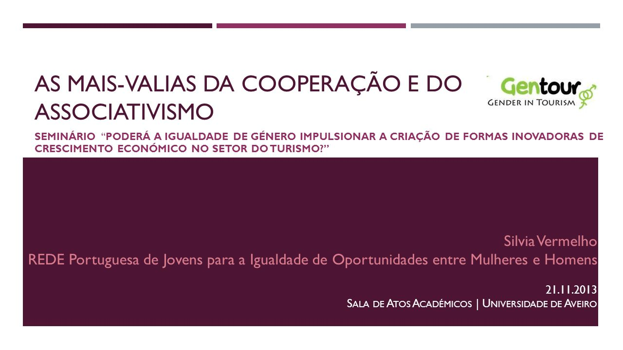As mais-valias da cooperação e do associativismo