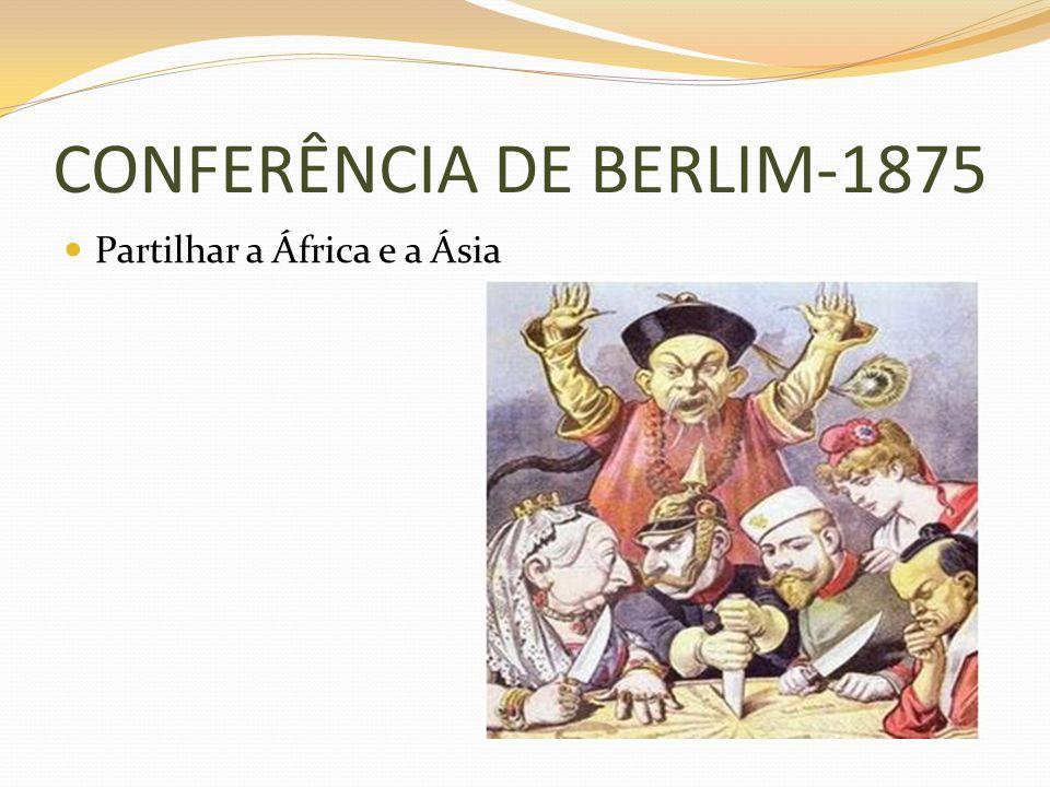 CONFERÊNCIA DE BERLIM-1875